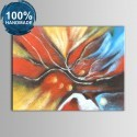 100% Hand Painted Abstract Oil Painting on Canvas (DK-JX-YH027)