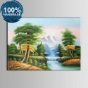 100% Hand Painted Realistic Landscape Oil Painting on Canvas (DK-JX-YH063)