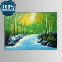 100% Hand Painted Realistic Landscape Oil Painting on Canvas (DK-JX-YH062)