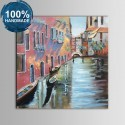 100% Hand Painted Abstract Venice Landscape Oil Painting on Canvas (DK-JX-YH040)