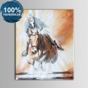 100% Hand Painted Abstract Figure Oil Painting on Canvas (DK-JX-YH06)