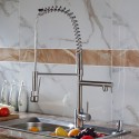 Kitchen Faucet - Brass in Brushed Nickel (82H03-BN)