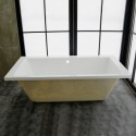 67 In Built-in Bathtub - Acrylic White (DK-MEC3057B)