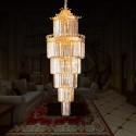 33-Light Gold Crystal Hall Chandelier (HY02SJD031B)