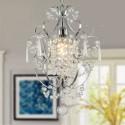 1-Light Modern Crystal Chandelier (DK-EPC501CH)
