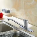 Chrome Finished Brass Kitchen Faucet (82H23-CHR-S)