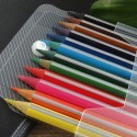 Multicolor Wooden Triangular Colored Pencil, 3.0mm, 12/pack(DK-PP008)