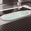 71 In Built-in Bathtub - Acrylic White (DK-MEC3120C)