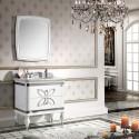 32 In. Single Sink Bathroom Vanity Set with Mirror (PD-1356)
