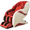 Zero Gravity Heated Reclining L-Track Massage Chair in Red (DLA08-A)