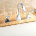 Basin&Sink Faucet - Brushed Brass with Lead Free (DK-YDL-3803BN)