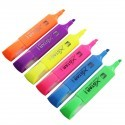 Highlighters with Chisel Point, Non-erasable, 12/Pack (DK-PML8008)