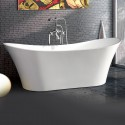 71 In Acrylic White Freestanding Bathtub (DK-MEC3141)