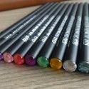 Wooden Pencil, HB Hardness, Black Barrel, 2.0mm, 11/pack (DK-PP4407)