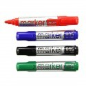Whiteboard Marker, Bullet Point, Assorted Colors, 12/Pack (DK-PMW805)