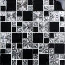 12 in. x 12 in. Electroplated Glass Backsplash - 8mm Thickness (R3855C)