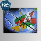 100% Hand Painted Abstract Oil Painting on Canvas (DK-JX-YH022)