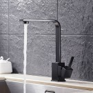 Black Bronze Finished Brass Kitchen Faucet (82H35-ORB)