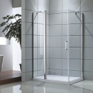 48 In. Pivot Shower Door with 36 In. Side Panel (DK-D506-120)