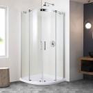 36 x 36 In. Round Sliding Shower Door (DK-BS2002-6)