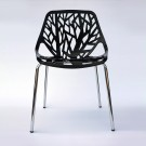 Stencil Dining Side Chair in Black (T812E002-BK)