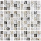 12 in. x 12 in. Electroplated Glass Mosaic Tile - 8mm Thickness (DK-TR23N1)