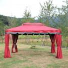 11.48 ft. x 11.48 ft. Roman Style Outdoor Cabin Gazebo (LM-005-2)