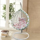 PE Rattan Patio Hanging Swing Chair (WD-8001)