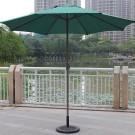 8.9-ft Outdoor Wind Resistant Patio Umbrella (902 IR/AL-1)