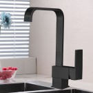 Kitchen Faucet - Brass with Matte Black Finish (82H08G-MB)
