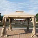 11.48 ft. x 11.48 ft. Roman Style Cabin Gazebo  (LM-002-3)