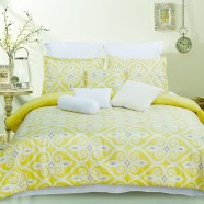 10-Piece Comforter Set in Yellow (DK-LJ002)