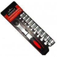 3/8 Inch 11 Pieces Socket Wrench Set (TK-050)