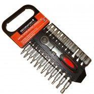 1/4 Inch 25pcs Socket Wrench Set (TK-054)