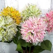 "Artificial Hydrangea Flower/Piece - 34"""