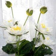 "Artificial Lotus Flower/Piece - 51"""