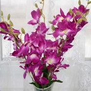 "Artificial Orchid Flower/Piece - 26"""