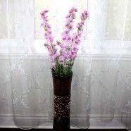 "Artificial Rocket Larkspur Flower/Piece - 39"""