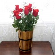 """Artificial Rose Flower/Piece - 26"""""""