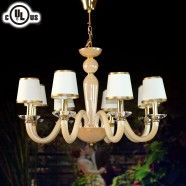 Glass Built 8-light Modern Chandelier/Diameter 30 Inch (HD9330-8)