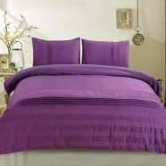 3-Piece Purple Duvet Cover Set (DK-LJ014)