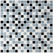 12 in. x 12 in. Glass Mosaic Tile - 8mm Thickness (A2102)