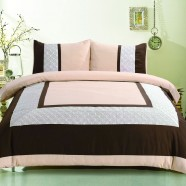 3-Piece Duvet Cover Set, King (DK-LJ016)