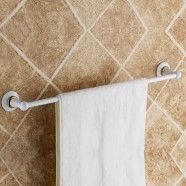 Towel Bar 24 Inch - White Painting Brass (80324D)
