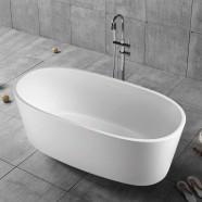 63 In Freestanding Bathtub - Acrylic White (DK-YU-16678)