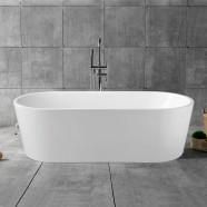 70 In Freestanding Bathtub - Acrylic White (DK-YU-1881)