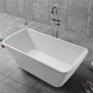 68 In Freestanding Bathtub - Acrylic White (DK-YU-27778)