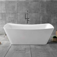67 In Freestanding Bathtub - Acrylic White (DK-YU-4777)