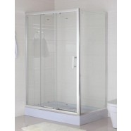 48 x 32 In. (120 x 80 cm) Clear Tempered Glass Shower Enclosure (WC-02)