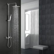 Rain Shower Head - Brass with Chrome Finish (9503)